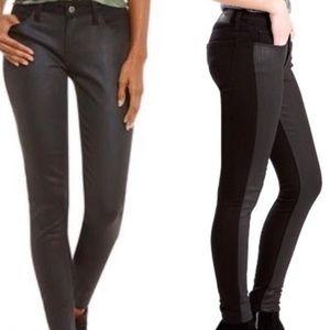 Levi's súper skinny black jeans